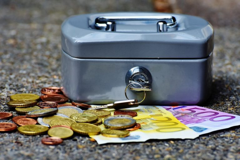 cashbox, money, currency
