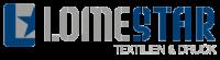 LOMESTAR Textilien & Druck Logo