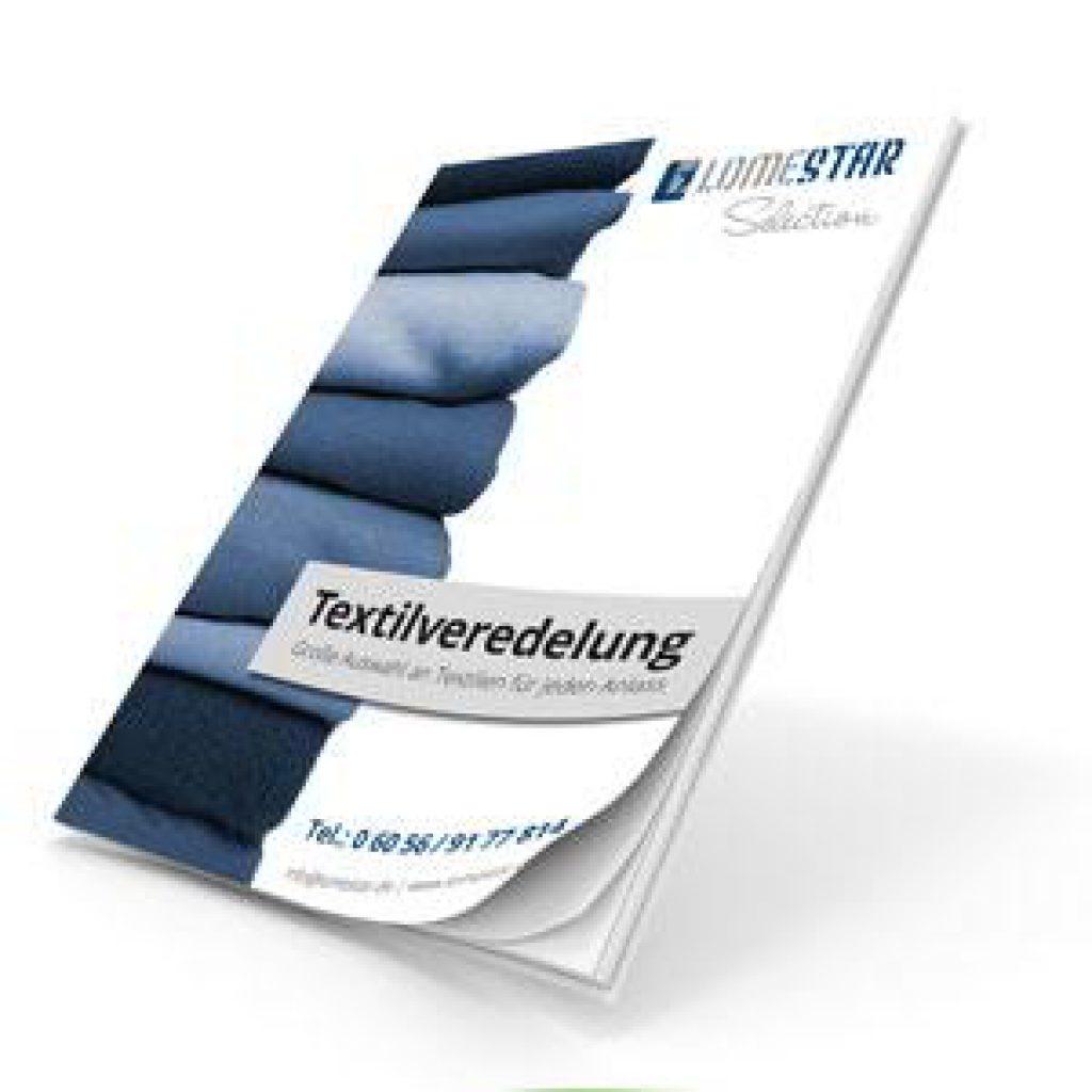 LOMESTAR Broschüre für Textilveredelung